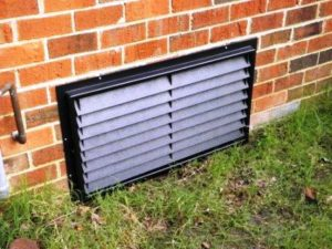 Crawl Space Doors with Louvers
