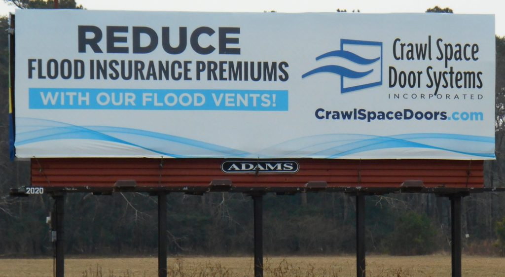 Flood Vents - Flood Insurance!