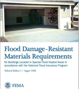 Flood Insurance - Building Materials in Flood Zones?