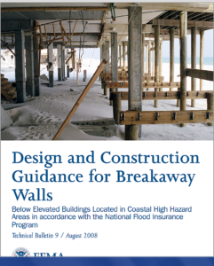 Flood Insurance - Information on Breakaway Walls?